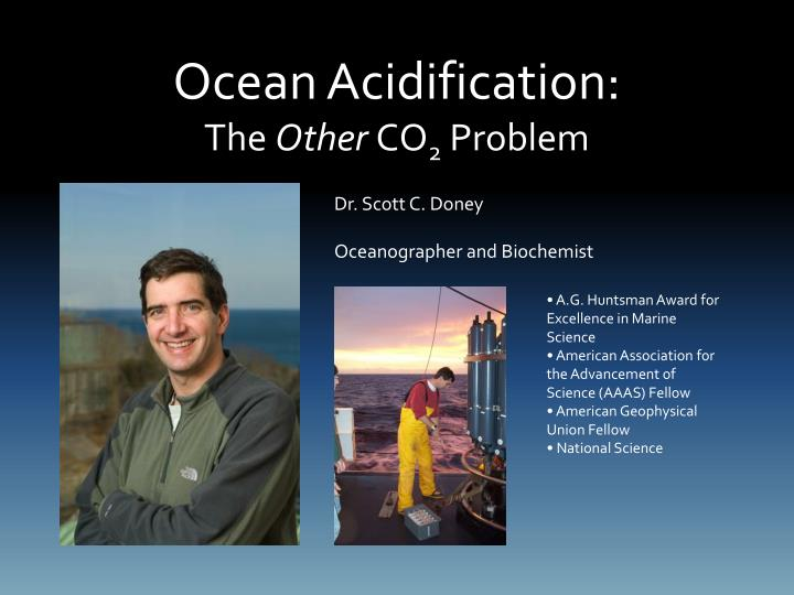 ocean acidification the other co 2 problem n.