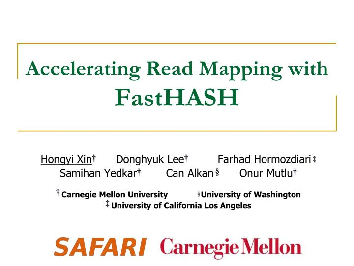 accelerating read mapping with fasthash n.