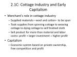 2 1c cottage industry and early capitalism1