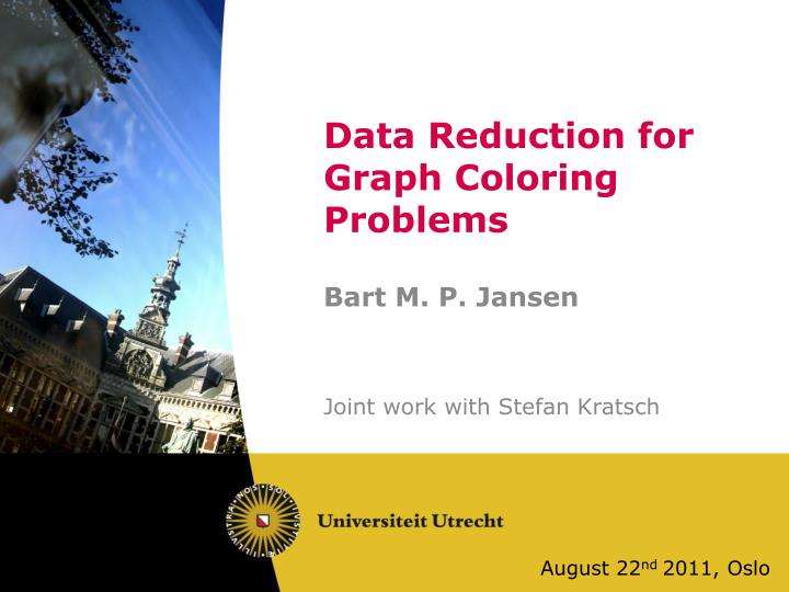 data reduction for graph coloring problems n.