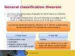 general classification theorem
