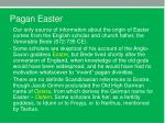 pagan easter2