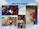 pre k in action