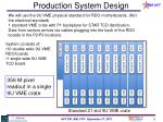 production system design