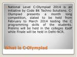 what is c olympiad