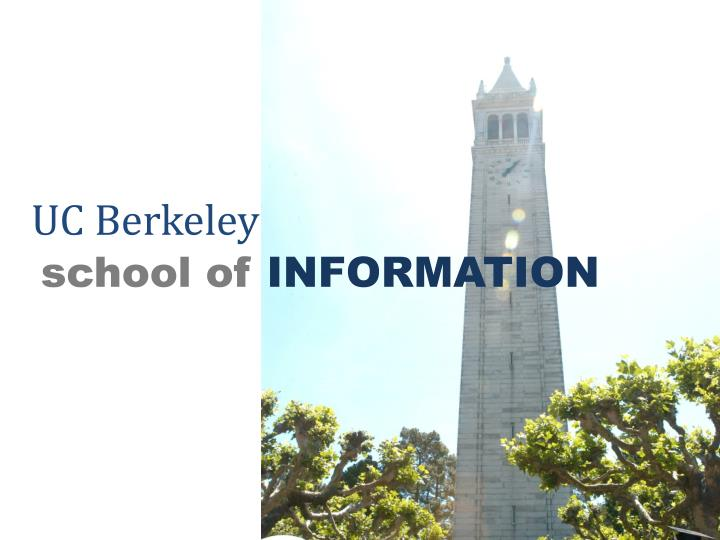 uc berkeley school of information n.