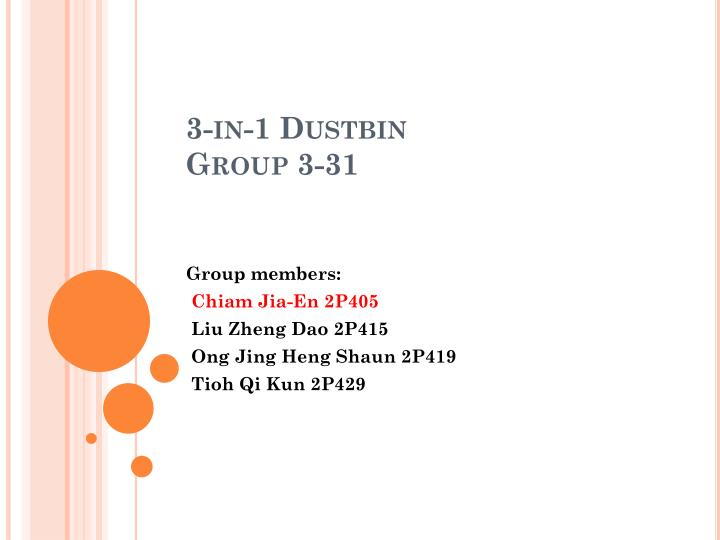 3 in 1 dustbin group 3 31 n.