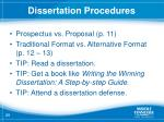 dissertation procedures3