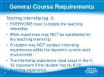 general course requirements1