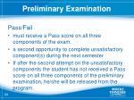 preliminary examination5
