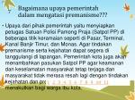 b agaimana upaya pemerintah dalam mengatasi premanisme