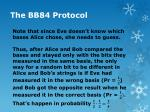 the bb84 protocol4