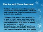 the lo and chau protocol1