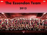 the essendon team 2013