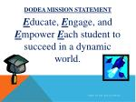dodea mission statement
