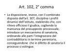 art 102 2 comma
