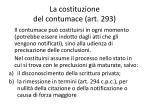 la costituzione del contumace art 293