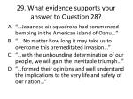 29 what evidence supports your answer to question 28