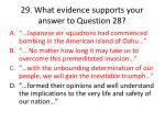 29 what evidence supports your answer to question 281
