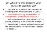 29 what evidence supports your answer to question 282