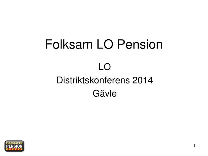 folksam lo pension n.