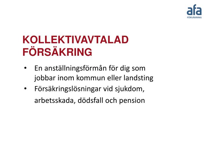 Kollektivavtalad f rs kring