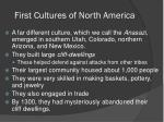 first cultures of north america1