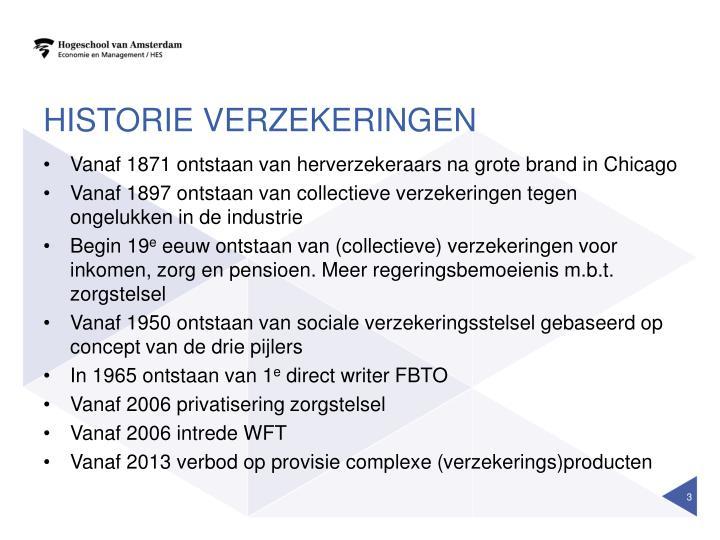 Historie verzekeringen1