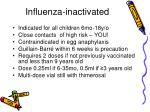 influenza inactivated