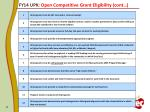fy14 upk open competitive grant eligibility cont