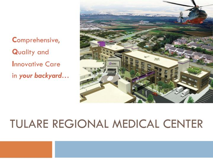 tulare regional medical center n.