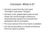 corrosion what is it