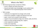 what is the tasc