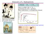 discovery of a radioactivity