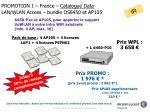 promotion 1 france catalogue data lan wlan access bundle os6450 et ap105