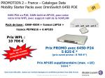 promotion 2 france catalogue data mobility starter packs avec omniswitch 6450 poe