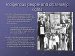 indigenous people and citizenship rights