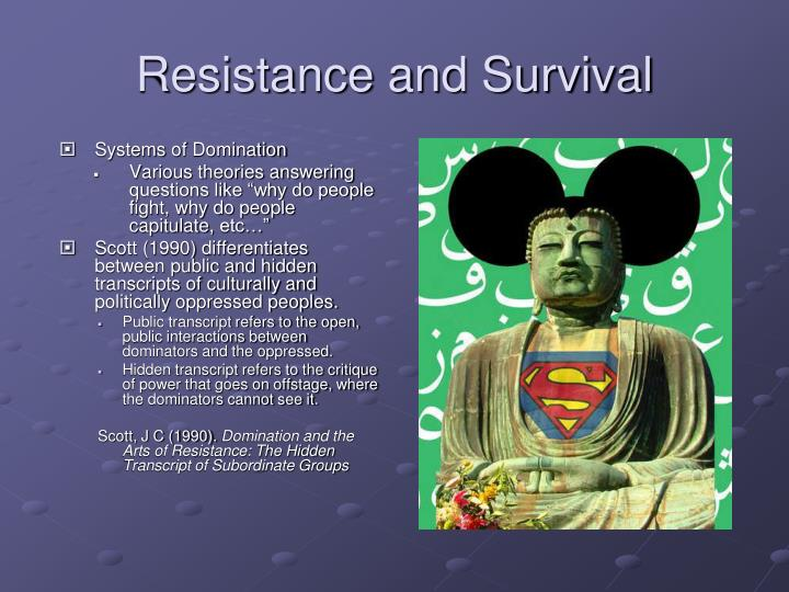 Authoritative point arts domination hidden resistance transcript consider, that