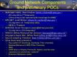 ground network components and preliminary pocs