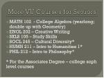 more vu courses for seniors