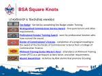 bsa square knots5