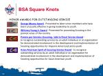 bsa square knots6