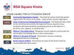 bsa square knots7