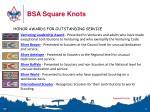 bsa square knots8