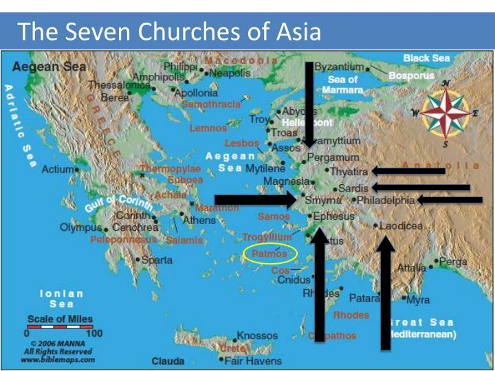 the seven churches of asia n.