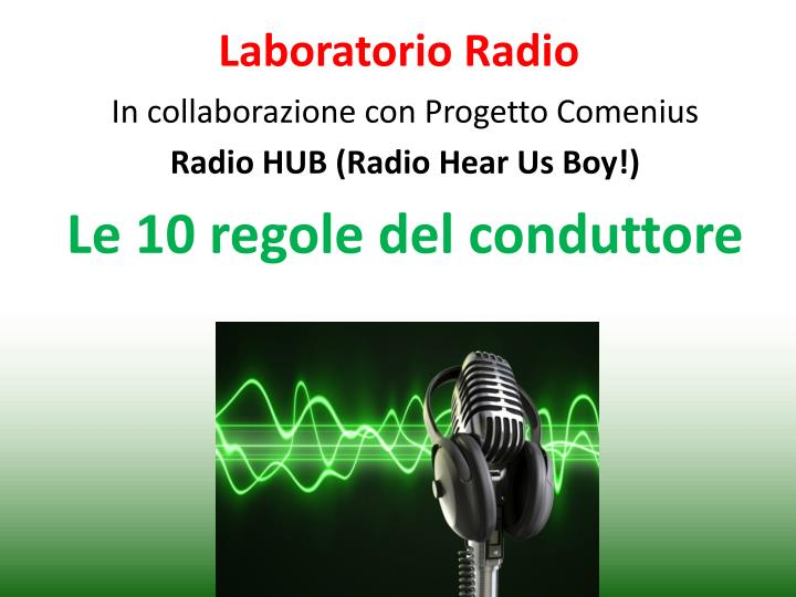 laboratorio radio n.