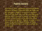 padres history1