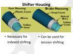 shifter housing