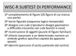 wisc r subtest di performance
