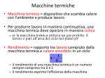 macchine termiche